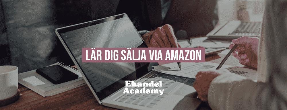 Lar Dig Salja Via Amazon Ehandel
