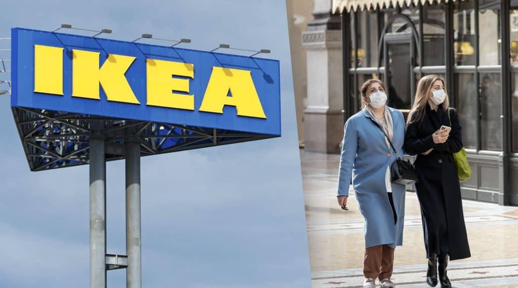 """IKEA stänger alla varuhus i Italien – """"fokuserar på att göra det vi kan"""""""