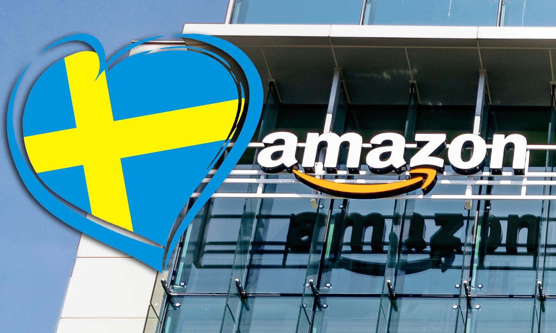 "Amazon om Sverige-planerna: ""Har många kunder i Sverige"""