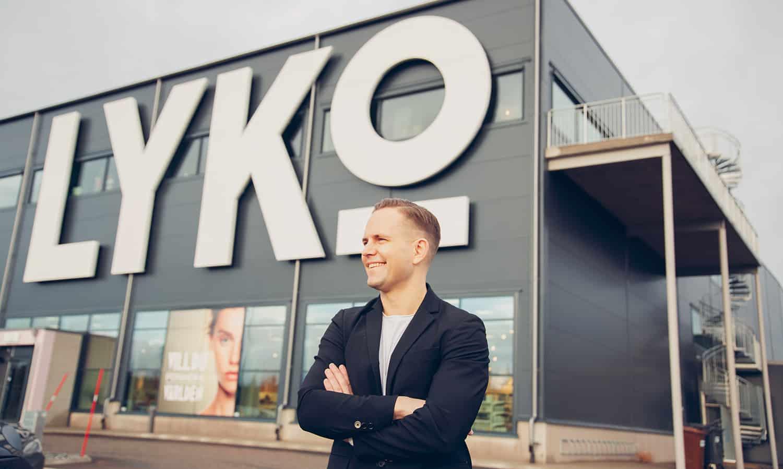 """Onlineexplosion hos Lyko: """"Skönhet går ofta bättre"""""""