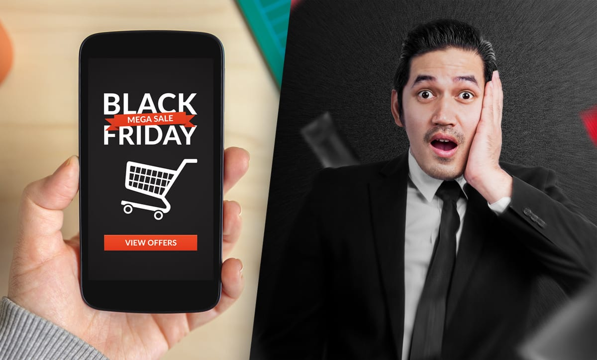 Försäljningen backade – inget nytt Black Friday-rekord i e-handeln