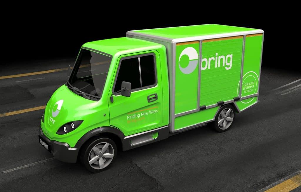 Bil från Inzile med Bring profilering