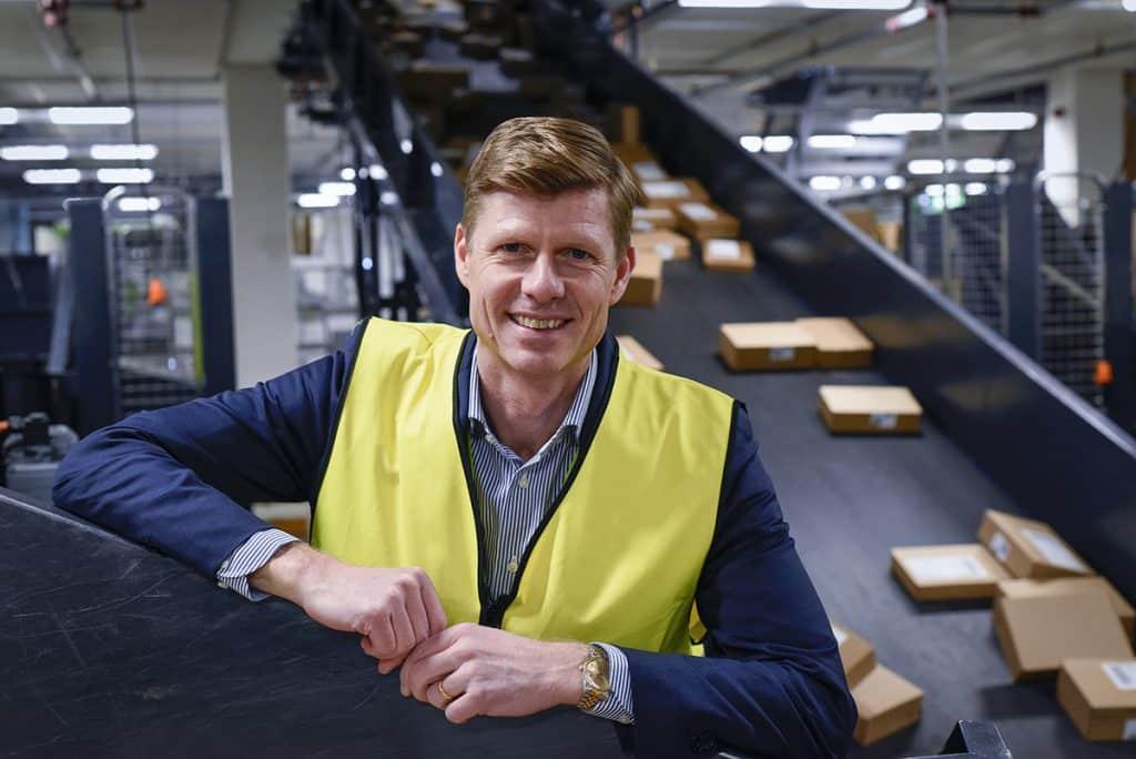 Per Öhagen, koncerndirektör för division E-handel och Logistik på Bring