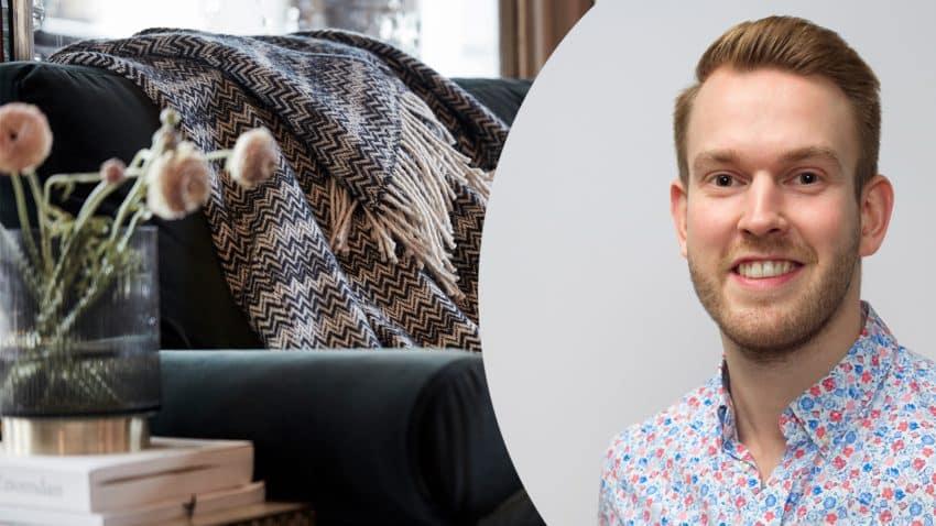 Niklas Dahlros är verksamhetsutvecklare, e-handel på Vinga.