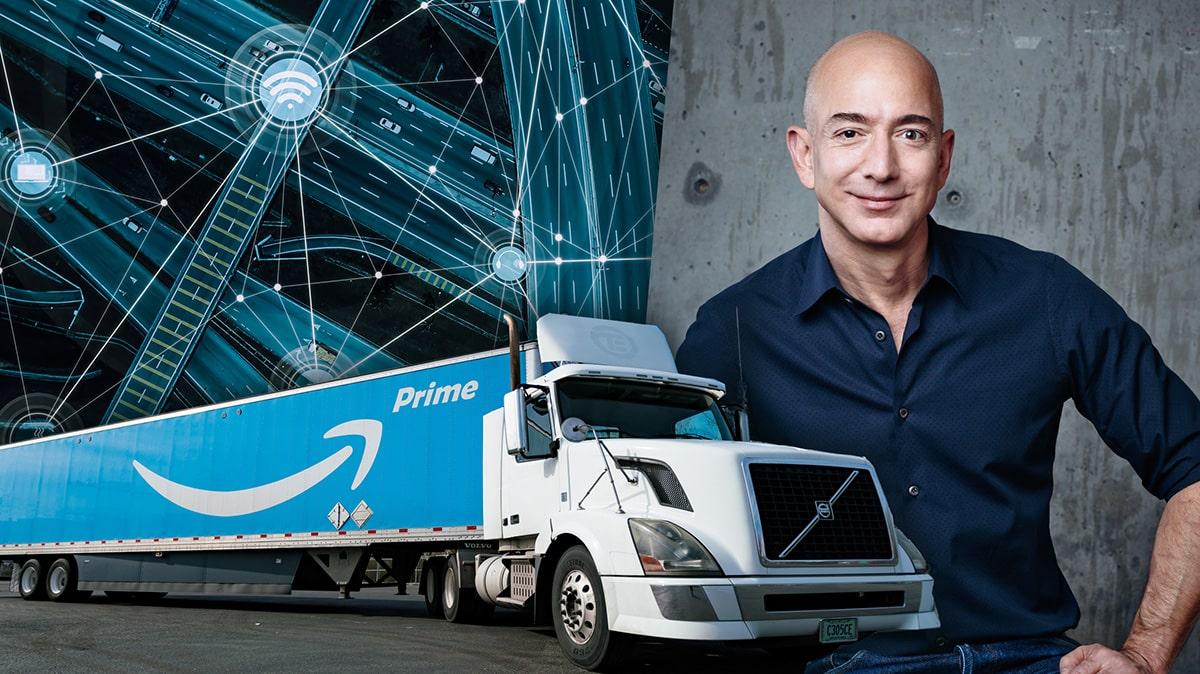 Amazon säger ja till biljonpaket för att uppgradera vägar och Internet